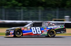 Équipe de course de NASCAR Rick Hendricks Photographie stock libre de droits