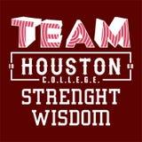 Équipe de créateurs Houston Images stock