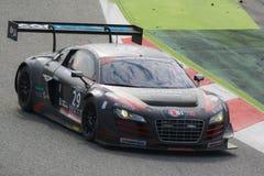 Équipe de Drivex 2 Audi R8 GT3 24 heures de Barcelone Photographie stock libre de droits
