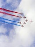 Équipe de fête aérienne Images libres de droits