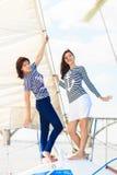 Équipe de femme de marins Image libre de droits