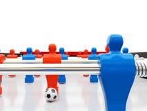 Équipe de football Photos stock