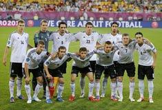 Équipe de football de national de l'Allemagne Photographie stock libre de droits