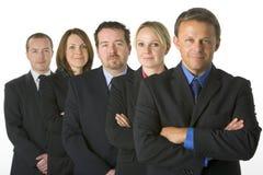 Équipe de gens d'affaires Images libres de droits
