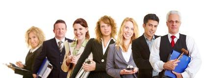 Équipe de groupe de gens d'affaires photo stock
