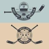 Équipe de hockey Photo libre de droits