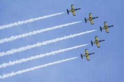 Équipe de jet photographie stock libre de droits