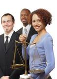 Équipe de jeunes avocats Images stock