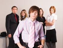 Jeune équipe d'affaires Image libre de droits