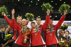 Équipe de l'Allemagne photo libre de droits