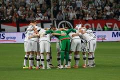 Équipe de Legia Varsovie Image libre de droits