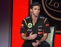 Équipe de Lotus F1 de Président à la convergence de Microsoft photos libres de droits