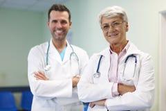 Équipe de médecins Images libres de droits