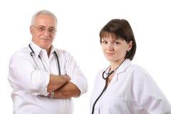 équipe de médecins photographie stock