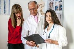 Équipe de médecins Photo stock
