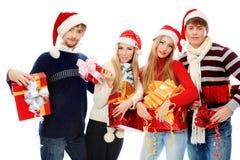 Équipe de Noël Image libre de droits