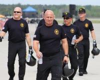 Équipe de parachute d'armée d'Etats-Unis Images libres de droits