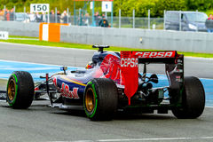 Équipe de Scuderia Toro Rosso F1, Carlos Sainz, 2015 Image stock