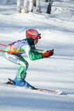 Équipe de ski d'Angarsk Photos libres de droits