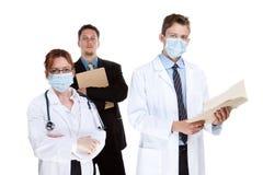 Équipe de soins de santé Photo libre de droits