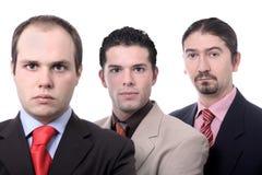 équipe de verticale d'affaires image libre de droits