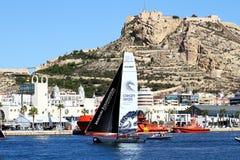 Équipe de Vestas de formation de catamarans de ProAM 32 Photographie stock