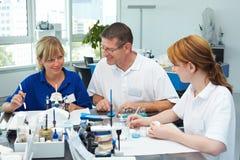 Équipe dentaire Photographie stock libre de droits