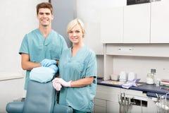 Équipe dentaire photo libre de droits