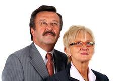 équipe des affaires 50s Photo stock