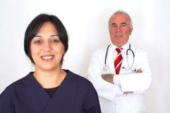 Équipe des médecins photographie stock