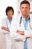 Équipe des médecins Images stock