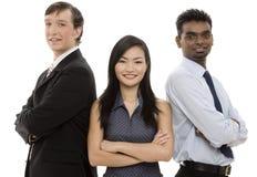 Équipe diverse 5 d'affaires Photographie stock
