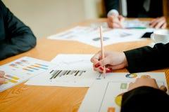 Équipe Doing Business de travail d'équipe comme unité de réunions de Team Corporate Image libre de droits