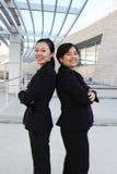 Équipe ethnique d'affaires de femme Image libre de droits