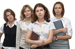 Équipe féminine d'affaires Photographie stock libre de droits