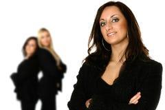 Équipe féminine d'affaires Photos stock