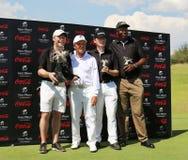 Équipe gagnante de tournoi de Gary Player pendant la deuxième année sur Novemb Images stock