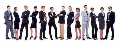 Équipe heureuse d'affaires Photos stock