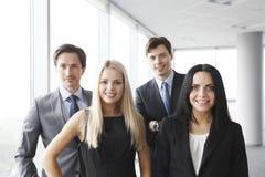 Équipe heureuse d'affaires Image libre de droits