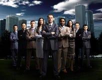 Équipe internationale d'affaires Image libre de droits