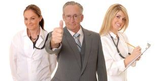 Équipe médicale Photographie stock libre de droits