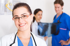 équipe médicale images stock