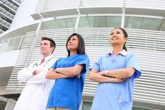 Équipe médicale attirante Images stock