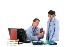 Équipe médicale, cardiologue Photo libre de droits