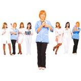 équipe médicale d'amorce Photo libre de droits