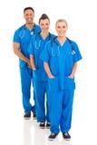 Équipe médicale de groupe image libre de droits