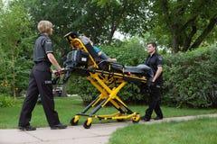 Équipe médicale de secours Image libre de droits