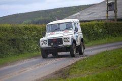 Équipe militaire en Jim Clark Rally 2012 Images libres de droits