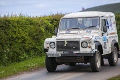 Équipe militaire en Jim Clark Rally 2012 Photographie stock