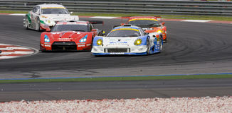Équipe Motul Autech Nissan GTR photo stock